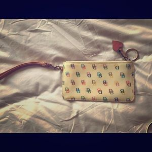 Rooney & Bourke clutch wristlet purse